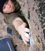 Rock Climbing Photo: Non-specific problem at Washoe Boulders.