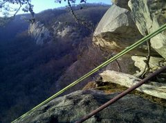 Rock Climbing Photo: View towards Hanging Chain Wall.