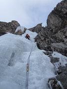Rock Climbing Photo: Eric on pitch 2.