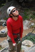Rock Climbing Photo: Belaying in Boulder Canyon
