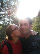 Rock Climbing Photo: sweet october kisses, mill creek!