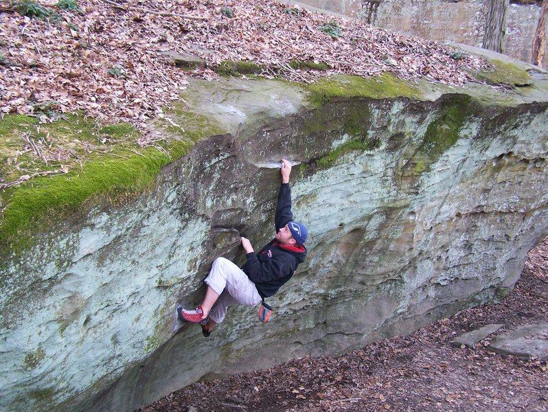 Rock Climbing Photo: Matte Kirk on Juicey Fruit