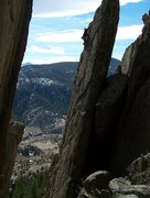 Rock Climbing Photo: One more pic of this awesome route