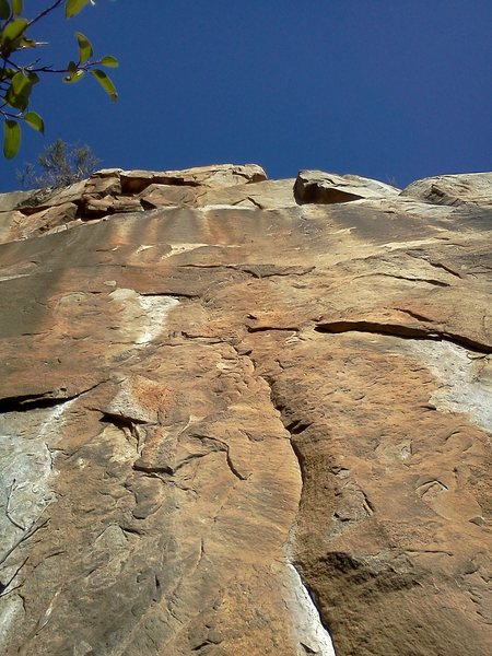 Rock Climbing Photo: Left face.