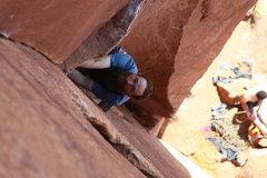 Rock Climbing Photo: James cruising Time
