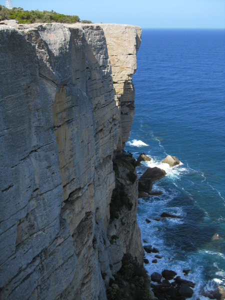 a bit of the beautiful sea cliffs of point perp