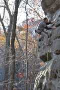 Rock Climbing Photo: Dave Downey cruises up on Earthbound @ 65 years of...