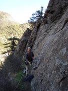 """Rock Climbing Photo: At the base of """"Footprints""""."""