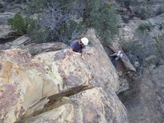 "Rock Climbing Photo: Kelly ""pink pointing"" ""Magali's&quo..."
