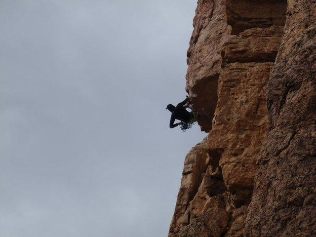 Rock Climbing Photo: #1 Super Guy 5.11a