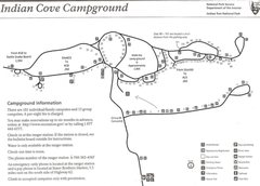 Rock Climbing Photo: Campground Map as provided by the park (some editi...