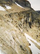 Rock Climbing Photo: Gmoser's Highway late August, 1995   Day-hikers fr...