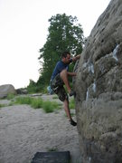 Rock Climbing Photo: Me on River View