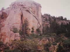 "Rock Climbing Photo: ""Super Sharp Crack of the Henrys"" 1994 o..."