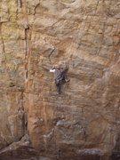 Rock Climbing Photo: Chen entering the ninja on Armed Robbery