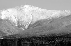 Rock Climbing Photo: Mt. Washington (from the West)