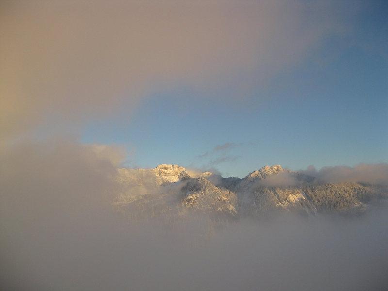 Fog mountains 1