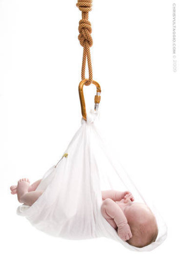 Rock Climbing Photo: Newborn shot I did for a friend...