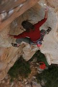 Rock Climbing Photo: Corner before the top crux.  Photo credit Kevin Wo...