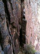 Rock Climbing Photo: Death cookie near belay 4.