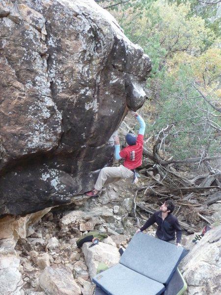 Rock Climbing Photo: squid jerky 2