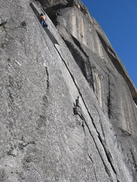 Rock Climbing Photo: Sugarloaf in Jan.