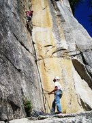 Rock Climbing Photo: Red Zinger