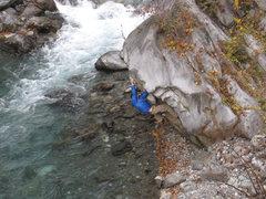 Rock Climbing Photo: Boulder under routes