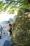 Rock Climbing Photo: Mimi boulder V3