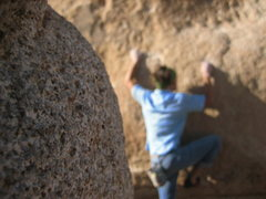 Rock Climbing Photo: bouldering at jtree
