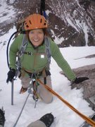 Rock Climbing Photo: North face, Longs Peak.