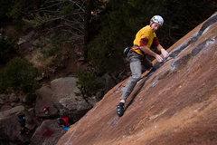 Rock Climbing Photo: Scott Bennett powering through The Evictor.  ryand...