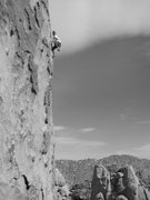 Rock Climbing Photo: me on a great 10 @ VOM