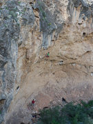 Rock Climbing Photo: Matthew NM sticking the last hard move before the ...