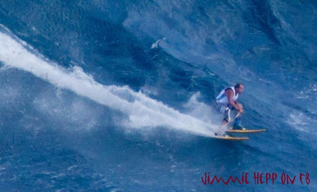 this is for real! <br> this was shot at Jaws today!