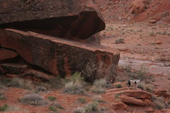Rock Climbing Photo: Moody Canyon in Escalante