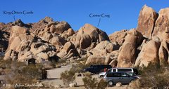 Rock Climbing Photo: Center Crag and King Otto's Castle from Feudal Wal...