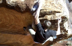 Rock Climbing Photo: This is Matt Budd on Underwhere Left.
