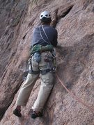 Rock Climbing Photo: starting pitch two.  steve curtis photo.
