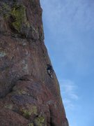Rock Climbing Photo: pitch four, photo by steve curtis