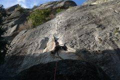 Rock Climbing Photo: Catchy