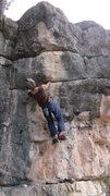 Rock Climbing Photo: Cara on Broke Down