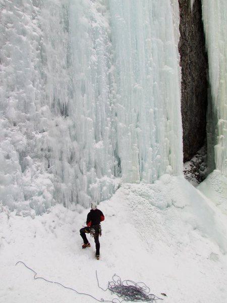 Rock Climbing Photo: Hyalite Canyon