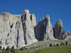 Rock Climbing Photo: Sella Group from the West