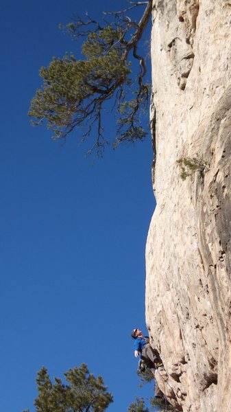 Rock Climbing Photo: I think it's called Surreal Arete. Excellent climb...