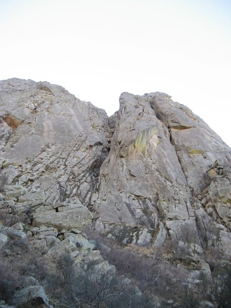 Eastern buttress of ORP