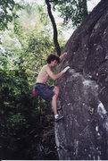 Rock Climbing Photo: summer 2001