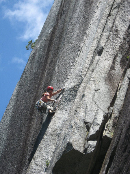 Beautiful Squamish climbing