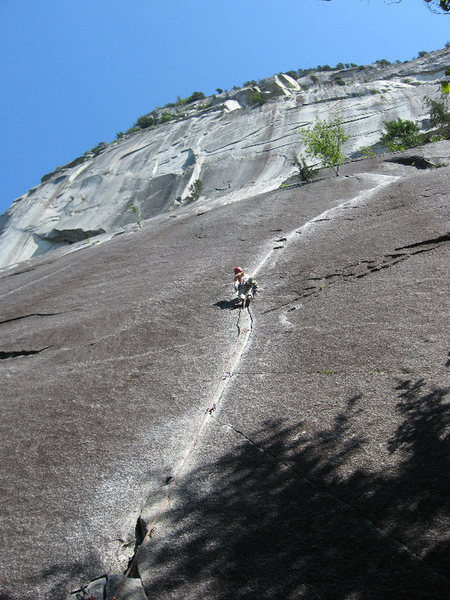 Rock Climbing Photo: Bring the gear, so that you can link them!