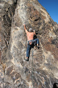 """Rock Climbing Photo: Marty Lewis on """"White Flight"""". Photo by ..."""